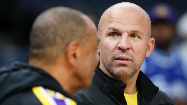 Los Angeles Lakers assistant coach Jason Kidd