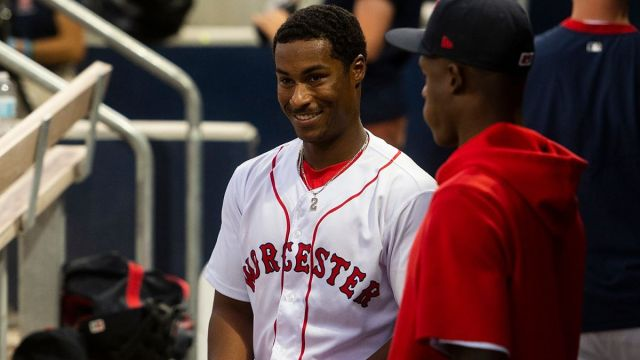 Boston Red Sox second baseman Jeter Downs