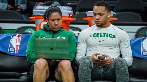 Former Boston Celtics assistant coach Kara Lawson