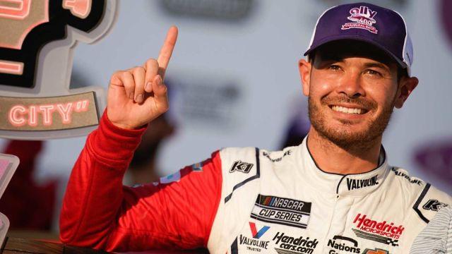 NASCAR driver Kyle Larson
