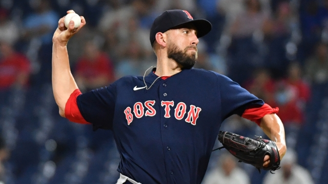 Boston Red Sox relief pitcher Matt Barnes