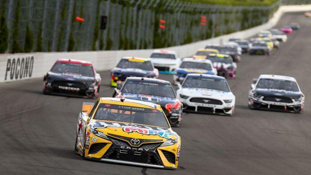 NASCAR drivers at Pocono Raceway