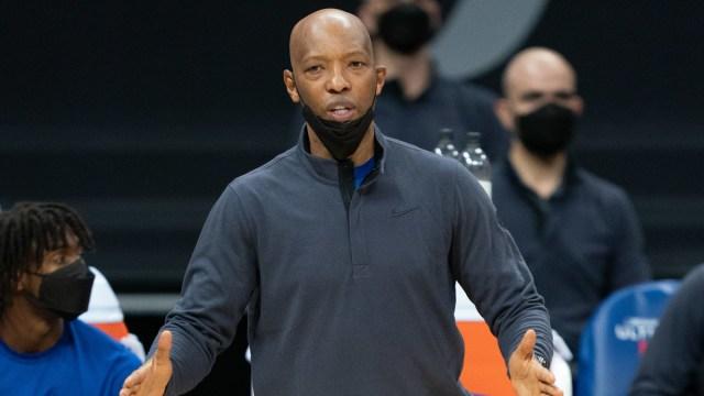 Philadelphia 76ers assistant coach Sam Cassell
