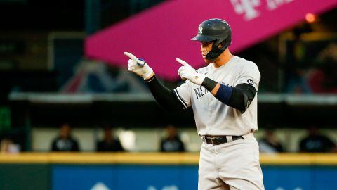 New York Yankees outfielder Aaron Judge