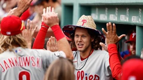 Philadelphia Phillies third baseman Alec Bohm