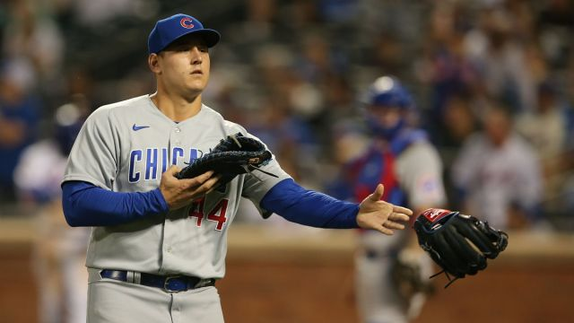Chicago Cubs first baseman Anthony Rizzo