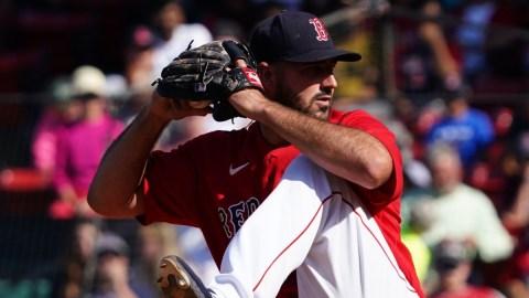 Boston Red Sox Pitcher Brandon Workman