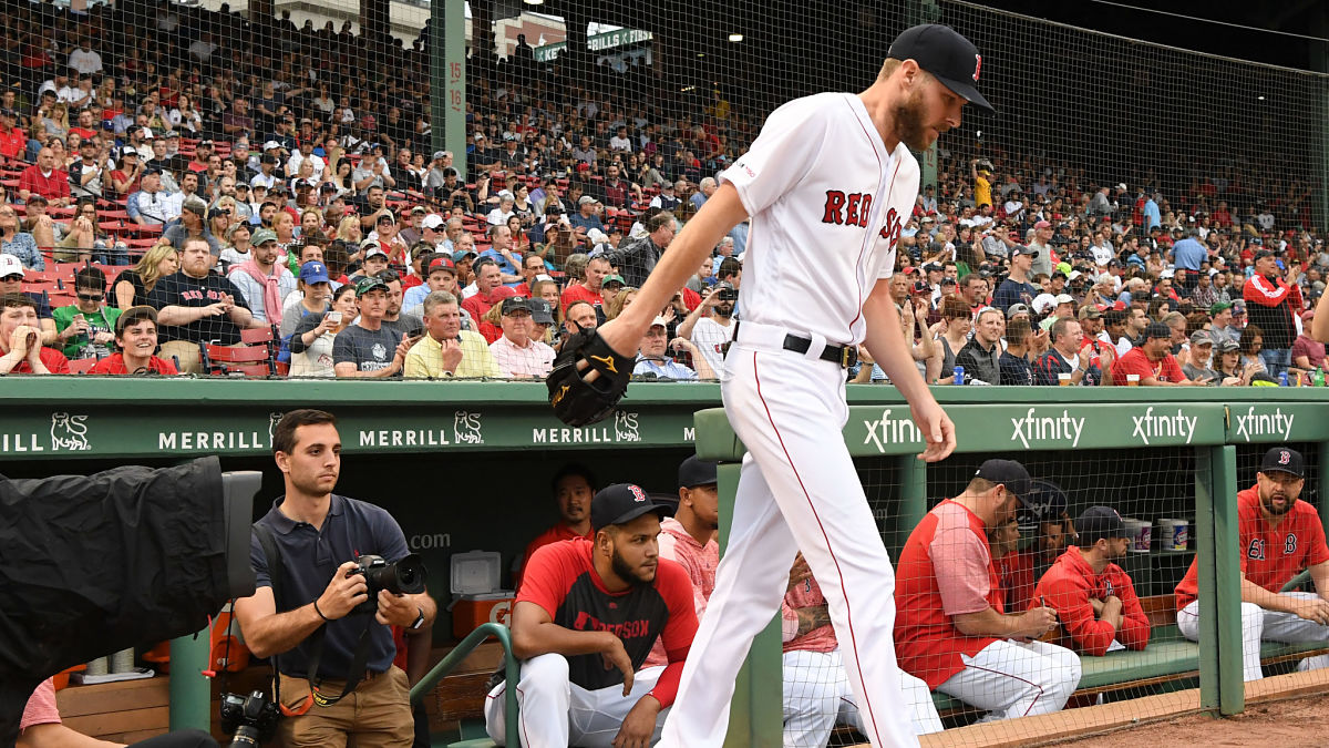 Red Sox First Pitch: Chris Sale Could Return To Red Sox After Trade Deadline