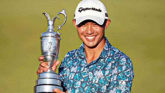 Professional golfer Collin Morikawa