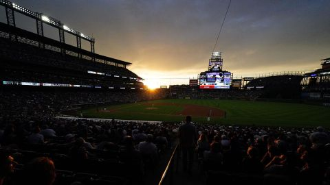 Coors Field, home of the 2021 MLB Home Run Derby