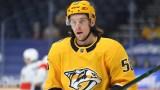Boston Bruins winger Erik Haula