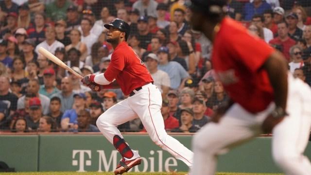 Boston Red Sox first baseman Franchy Cordero