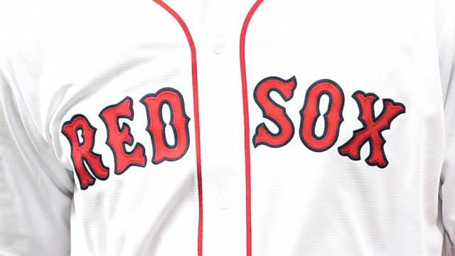 Boston Celtics forward Grant Williams Red Sox jersey