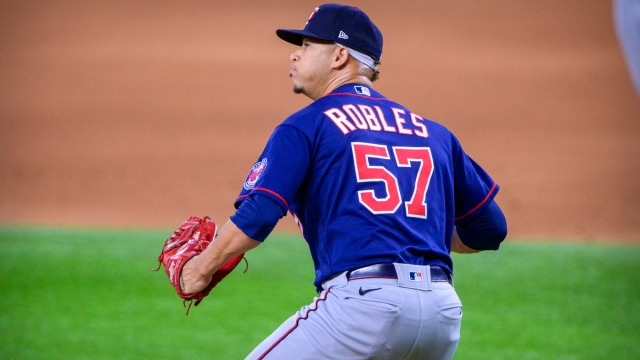 Boston Red Sox pitcher Hansel Robles