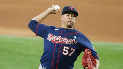 Minnesota Twins reliever Hansel Robles