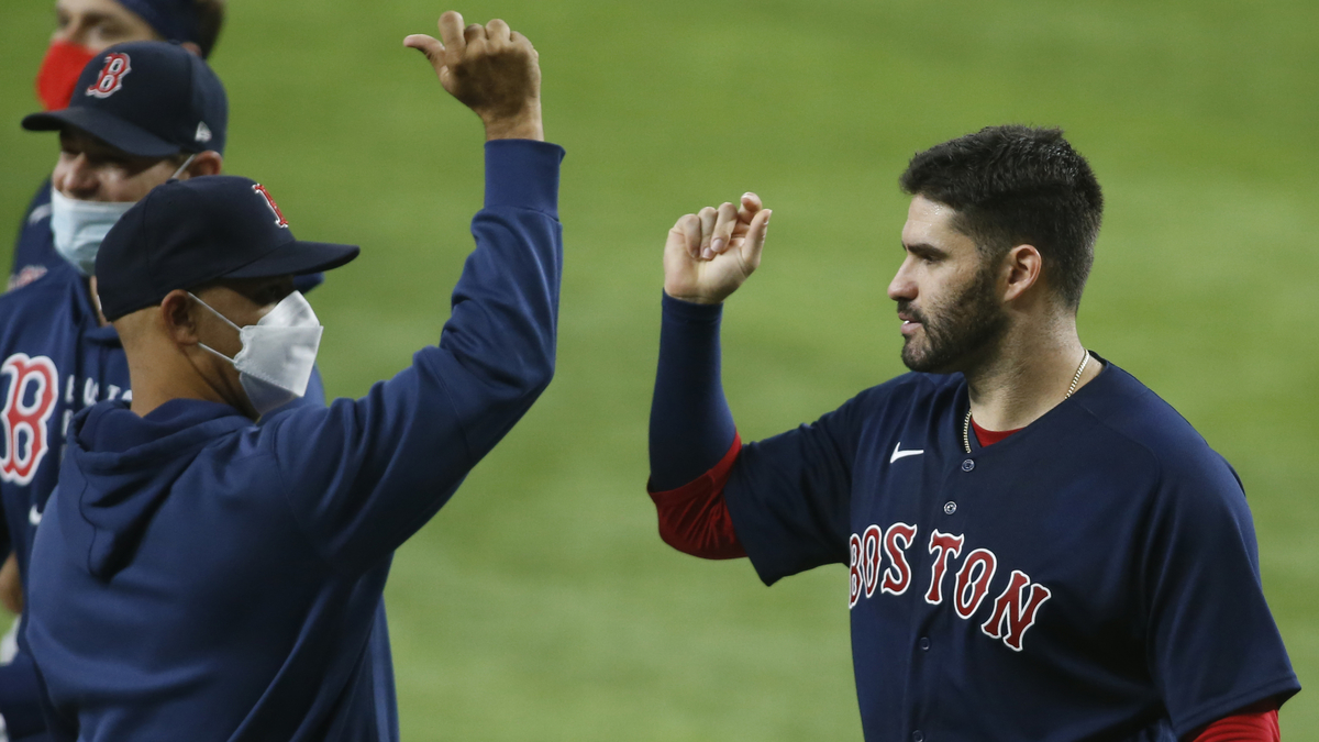 Red Sox Go For Series Win In Final Regular Season Game Vs. Angels