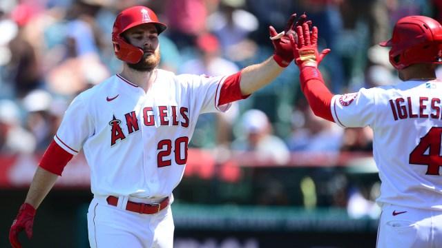 Los Angeles Angels First Baseman Jared Walsh