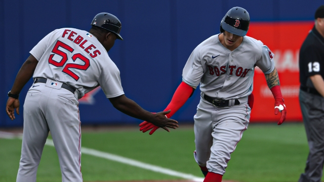 Red Sox outfielder Jarren Duran
