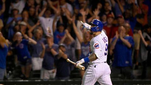 Chicago Cubs shortstop Javier Baez