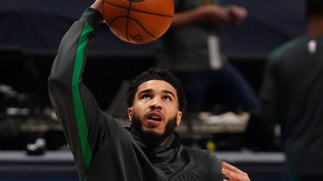Team USA and Boston Celtics forward Jayson Tatum
