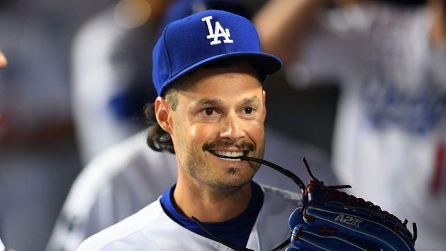 Los Angeles Dodgers reliever Joe Kelly