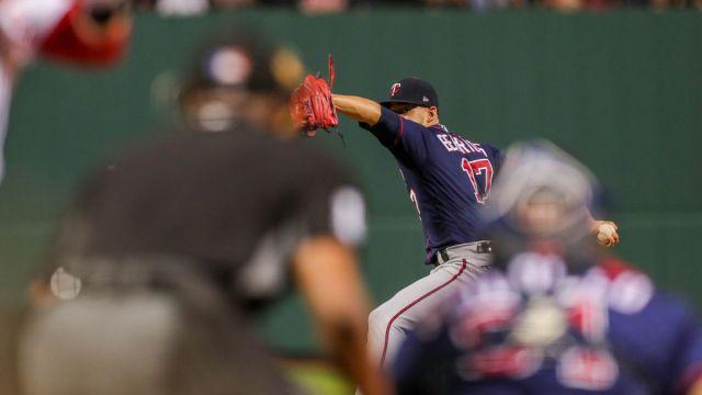 Minnesota Twins pitcher Jose Berrios