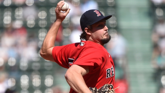 Boston Red Sox relief pitcher Josh Taylor