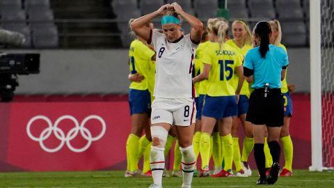 United States women's soccer team midfielder Julie Ertz