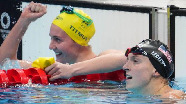 USA Swimming Katie Ledecky
