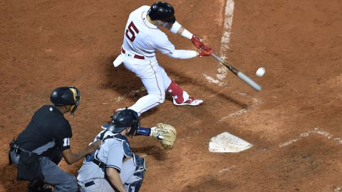 Boston Red Sox infielder/outfielder Kiké Hernández