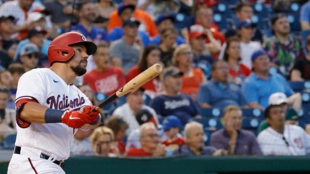Boston Red Sox left fielder Kyle Schwarber
