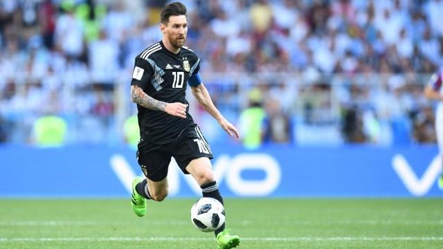 Argentina forward Lionel Messi