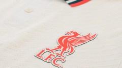 Liverpool away uniform