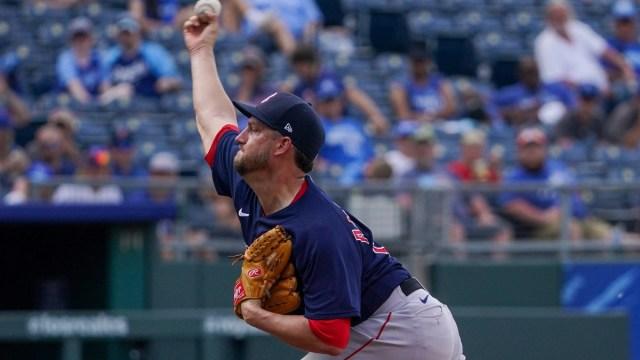 Boston Red Sox pitcher Matt Andriese