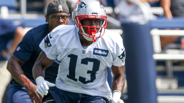 New England Patriots receiver Nelson Agholor