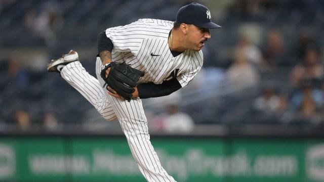 New York Yankees pitcher Nestor Cortes