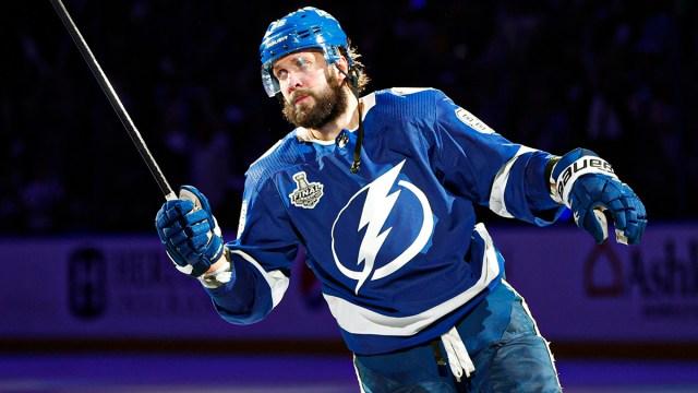 Tampa Bay Lightning winger Nikita Kucherov