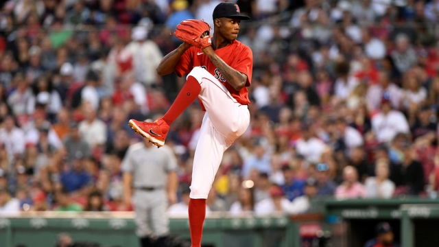 Boston Red Sox relief pitcher Phillips Valdez