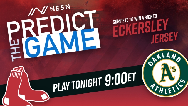 Red Sox vs. Athletics 'Predict the Game'