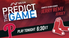 """Red Sox-Phillies """"Predict the Game"""""""