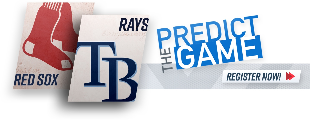"""Red Sox-Rays """"Predict The Game"""""""