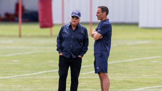 New England Patriots Owner Robert Kraft