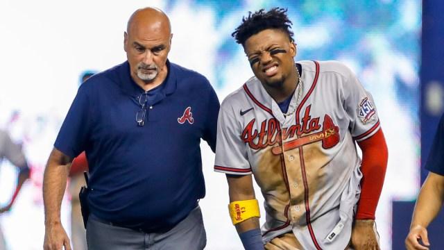 Atlanta Braves right fielder Ronald Acuna Jr.