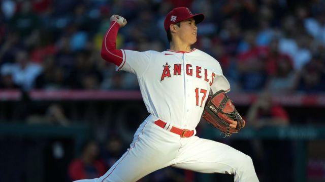 Los Angeles Angels pitcher Shohei Ohtani