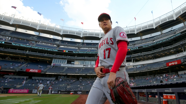 Los Angeles Angels Pitcher And Designated Hitter Shohei Ohtani