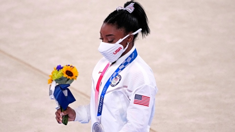 Team USA gymnast Simone Biles