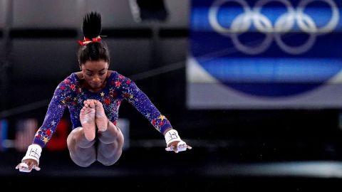 Unites States gymnast Simone Biles