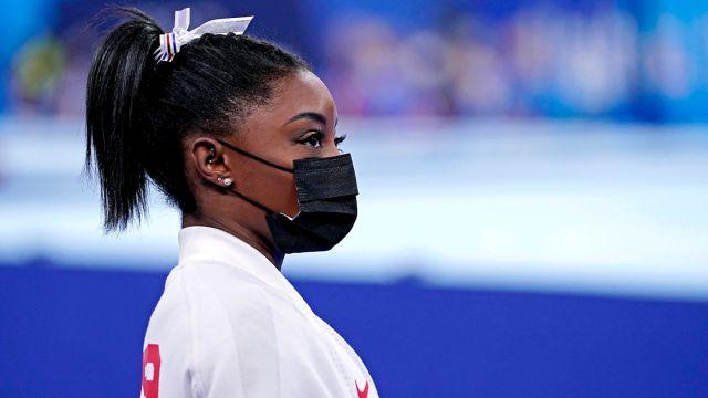 United States gymnast Simone Biles
