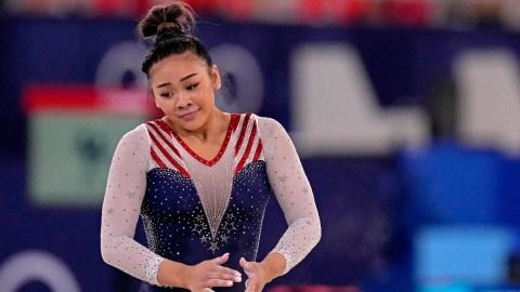 USA gymnast Suni Lee