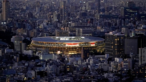 The Tokyo Olympics opening ceremony will be held at the Olympic Stadium